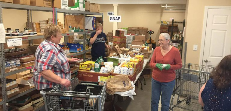Food Pantry Feeds Many Families During COVID-19